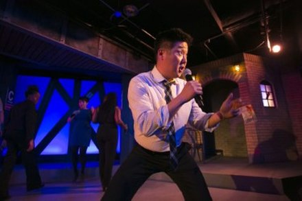 Peter Kim - performing in the Second City